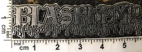 BLASPHEMY - BLOOD Metal pin