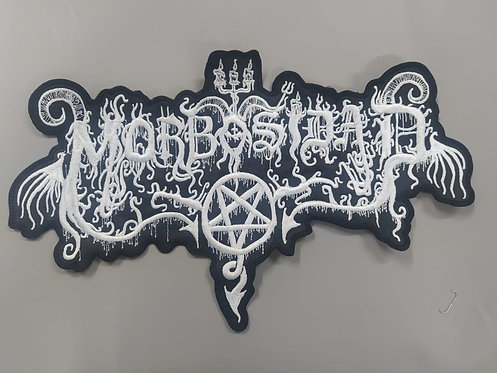 MORBOSIDAD - LOGO EMBROIDERED BACK PATCH