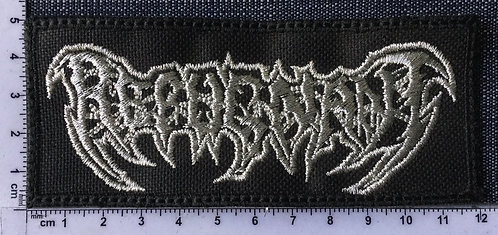 REPUGNANT - LOGO EMBROIDERED PATCH