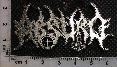 ABSURD - Logo Metal Pin