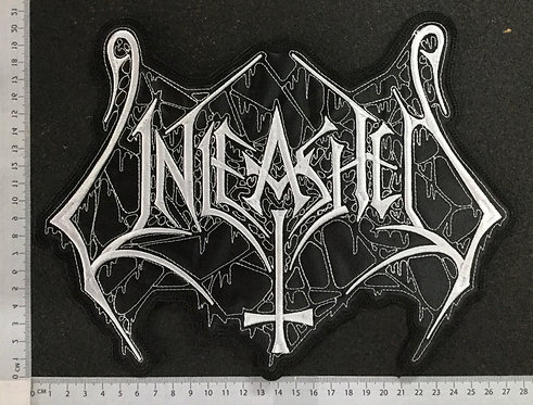 UNLEASHED - LOGO EMBROIDERED BACK PATCH