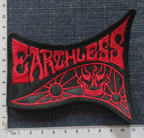 EARTHLESS - LOGO EMBROIDERED PATCH