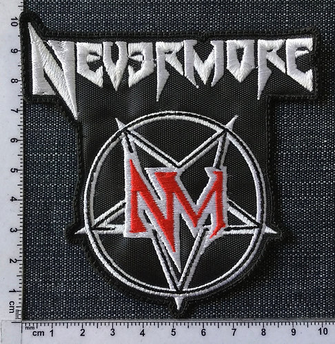 NEVERMORE - LOGO EMBROIDERED PATCH