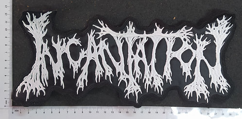 INCANTATION - LOGO EMBROIDERED BACKPATCH