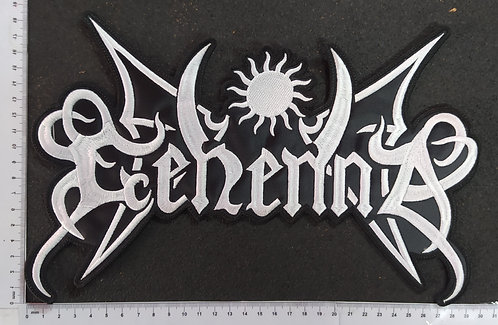 GEHENNA - LOGO EMBROIDERED BACKPATCH