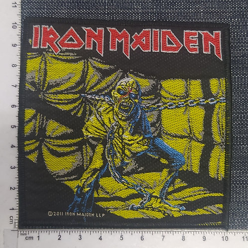 IRON MAIDEN - PIECE OF MIND WOVEN PATCH