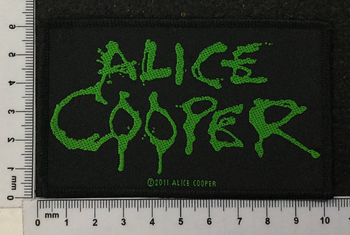ALICE COOPER - LOGO WOVEN PATCH
