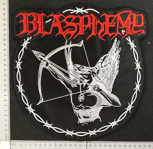 BLASPHEMY - FALLEN ANGEL OF DOOM EMBROIDERED BACK PATCH
