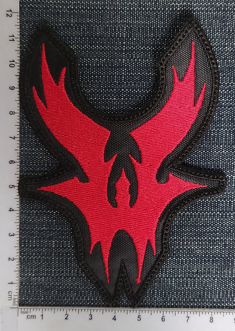 WARLOCK - SYMBOL EMBROIDERED PATCH