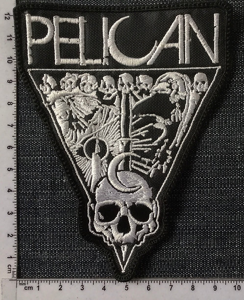 PELICAN - SKULL EMBROIDERED PATCH