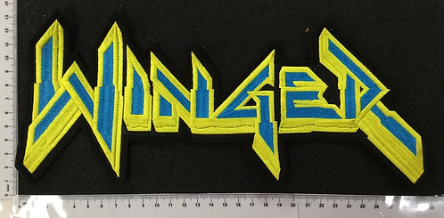 WINGER - LOGO EMBROIDERED BACK PATCH