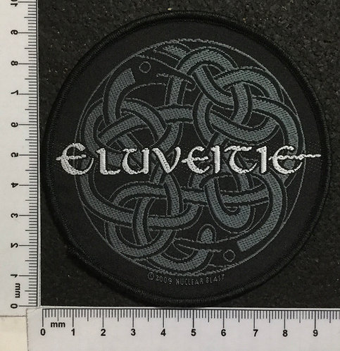 ELUVEITIE - CIRCULAR TRIBAL WOVEN PATCH