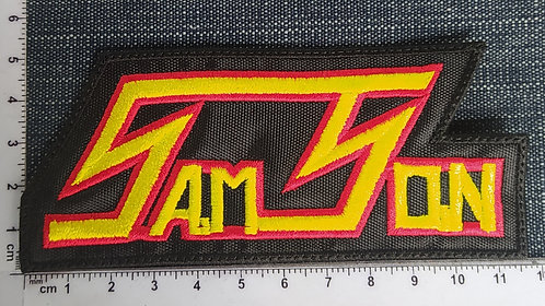 SAMSON - LOGO EMBROIDERED PATCH