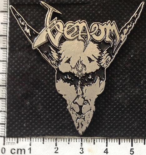 VENOM -  BLACK METAL  Metal Pin