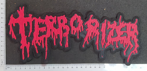 TERRORIZER - LOGO EMBROIDERED BACKPATCH