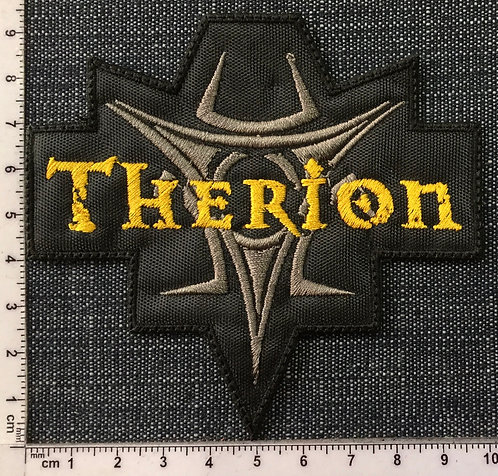 THERION - TRIBAL LOGO EMBROIDERED PATCH