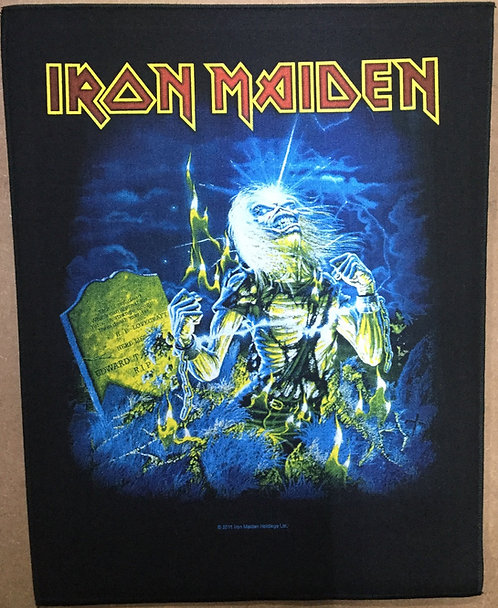 IRON MAIDEN- Life After Death Back Patch