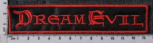DREAM EVIL - LOGO EMBROIDERED PATCH