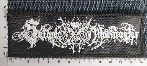 SATANIC WARMASTER - LOGO EMBROIDERED PATCH