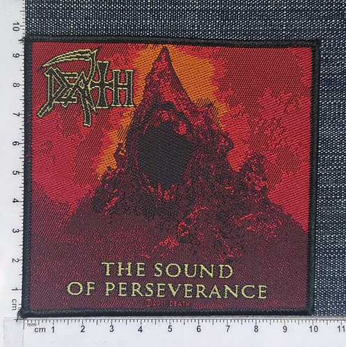 DEATH - THE SOUND OF PERSERVERANCE WOVEN PATCH