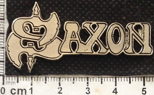 SAXON - LOGO   Metal Pin