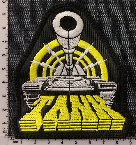 TANK - TANK EMBROIDERED PATCH