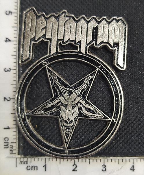 PENTAGRAM - RELENTLESS Metal Pin