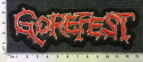 GOREFEST - LOGO EMBROIDERED PATCH