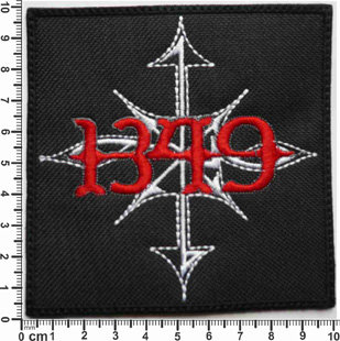 1349 - LOGO SQUARE EMBROIDERED PATCH