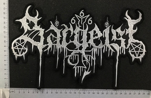 SARGEIST - LOGO EMBROIDERED BACK PATCH