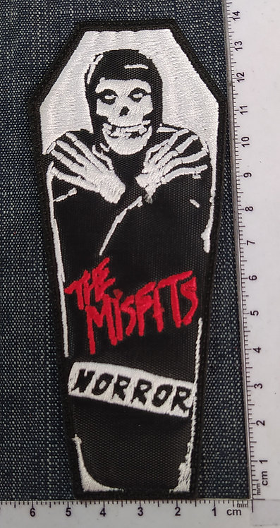 MISFITS - HORROR EMBROIDERED PATCH