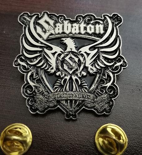SABATON - COAT OF ARMS Metal Pin