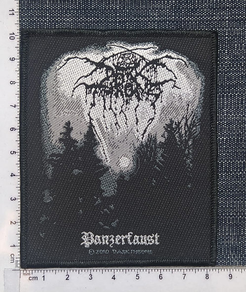 DARK THRONE - PANZERFAUST WOVEN PATCH