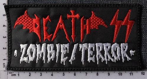 DEATH - ZOMBIE TERROR EMBROIDERED PATCH