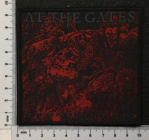 AT THE GATES - TO DRINK FROM THW NIGHT ITSELF WOVEN PATCH