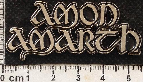AMON AMARTH - LOGO  Metal Pin