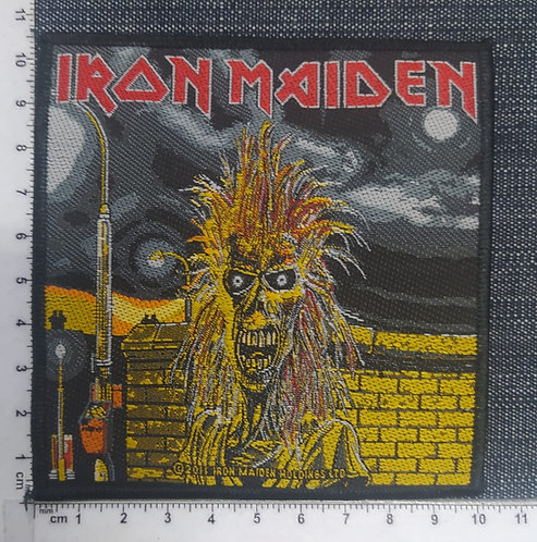 IRON MAIDEN - IRON MAIDEN EDDIE WOVEN PATCH