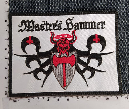 MASTER´S HAMMER - EMBROIDERED PATCH