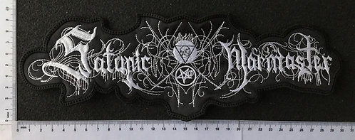 SATANIC WARMASTER -  LOGO EMBROIDERED BACK PATCH