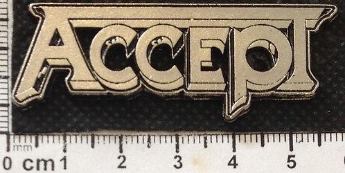 ACCEPT - LOGO  Metal Pin