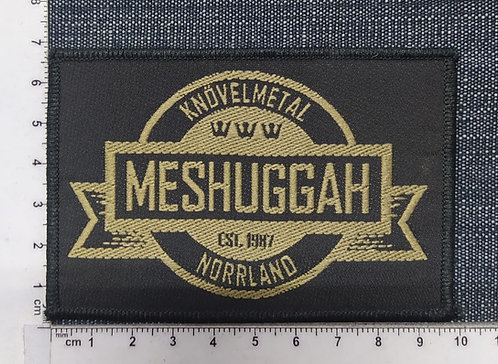 MESHUGGAH - CREST WOVEN PATCH