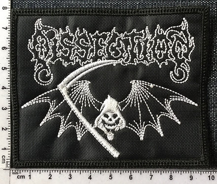 DISSECTION - SKULL EMBROIDERED PATCH