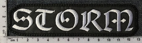 STORM - LOGO EMBROIDERED PATCH
