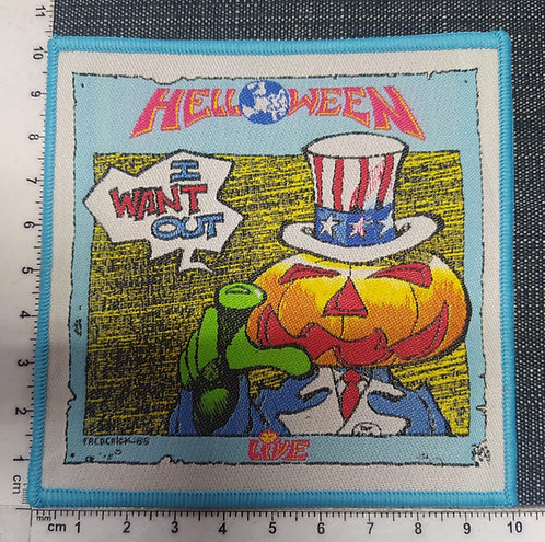 HELLOWEEN - I WANT OUT WOVEN PATCH