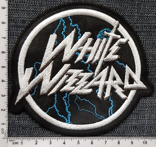 WHITE WIZZARD - LOGO Patch