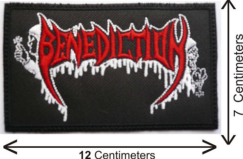 BENEDICTION - EMBROIDERED PATCH LOGO (PATCH)