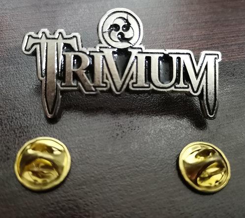 TRIVIUM - LOGO Metal Pin