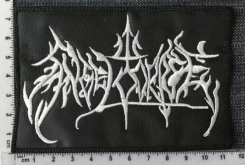 ANGEL CORPSE - LOGO EMBROIDERED PATCH