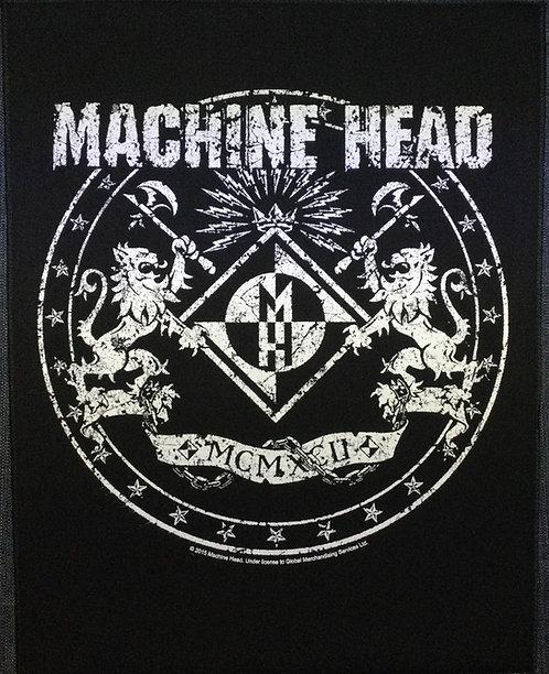 MACHINE HEAD - Crest Back Patch