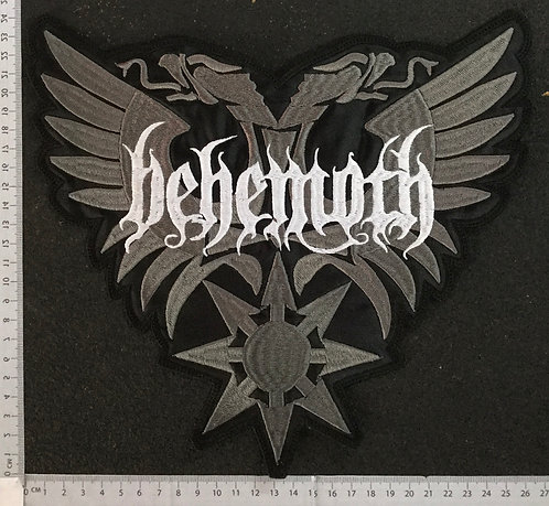 BEHEMOTH - EAGLE EMBROIDERED BACK PATCH